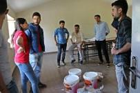 İLKÖĞRETİM OKULU - TOG Gönüllüleri Köy Okulunu Boyaladı