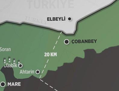 Türkiye PYD'nin koridorunu deldi! İşte animasyonu!