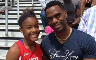 Tyson Gay'in kızı öldürüldü