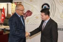 VERGİ DAİRESİ - Vergi Dairesinden Başkan Ergün'e Ziyaret