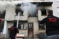 İTFAİYECİLER - Alevlerin Arasında Çıkan Küçük Kızın İmdadına Polis Yetişti