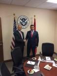 SINIR GÜVENLİĞİ - Bakan Tüfenkci, Washington'da ABD İç Güvenlik Bakanı Johnson'la Görüştü