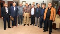 İBRAHIM KARAOSMANOĞLU - Başkan Karaosmanoğlu, Cami Ve Kuran Kursları Federasyonu'nu Ağırladı