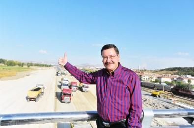 Başkan Gökçen'ten rekor; Bu yıl bin 100 kilometre yeni yol açıldı