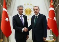 LETONYA - Cumhurbaşkanı  Erdoğan'ın Büyükelçileri Kabul Etti