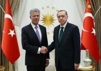 LETONYA - Cumhurbaşkanı Erdoğan, Lüksemburg Büyükelçisi'ni Kabul Etti