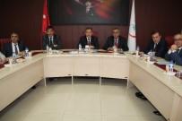 MUSTAFA KUTLU - İl Sağlık Müdürlüğü 2016 Ekim Aylık Koordinasyon Kurulu Toplantısı Yapıldı