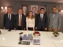 ADEM ÖZTÜRK - Kaymakam Öztürk'ten AK Parti'ye Ziyaret