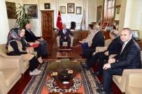 KEREM KINIK - Kızılay Yönetiminden Başkan Yılmaz'a Davet