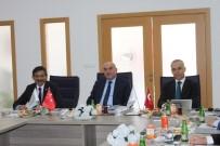 ÇANKIRI VALİSİ - KUZKA, Sinop Valisi Hasan İpek Başkanlığında Toplandı