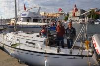 BEĞENDIK - Letonyalı Turistler Sinop'a Demir Attı