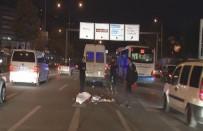 SAĞLIK EKİBİ - Minibüsün Çarptığı Yaya Hayatını Kaybetti