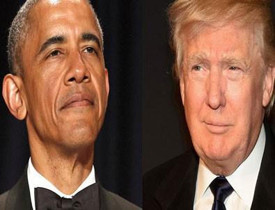 Obama'dan Trump'a: Tavsiyem ağlamayı kesmesi