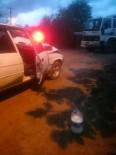 YENIKENT - Sakarya'da Trafik Kazası Açıklaması 2 Yaralı