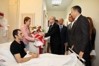 ŞAHINBEY ARAŞTıRMA VE UYGULAMA HASTANESI - Şimşek'ten Yaralı Polislere Ziyaret