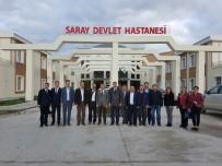 AMELİYATHANE - AK Parti İl Başkanı Yüksel'in İlçe Ziyaretleri