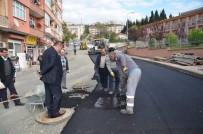 HÜKÜMET KONAĞI - Alaplı Belediyesi Asfaltlama Çalışmalarını Sürdürüyor