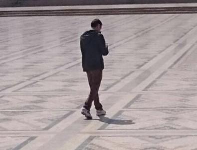 Ankara'daki canlı bombanın keşif görüntüleri