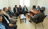 AHMET GENÇ - Başkan Genç'ten Muhtarlara Ziyaret