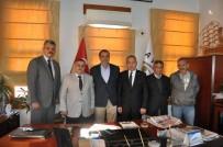 AYVALIK BELEDİYESİ - Başkan Gençer, Türk Yerel Hizmet Sendikası'nı Ağırladı
