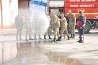 SÖNDÜRME TÜPÜ - Bozüyük Belediyesi İtfaiyesi'nden Yangın Eğitimi