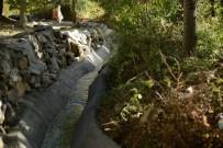KAPAKLı - Büyükşehir Belediyesi'nin Tarımsal Altyapı Çalışmaları Sürüyor