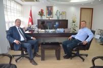 MURAT GÜVEN - Demirci Kaymakamı  Kantay'dan Kula Kaymakamı Güven'e Ziyaret