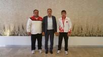 KıRKPıNAR - Dinç, Genç Güreşçisinin Azmini Ve Başarısını Övdü