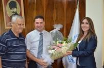 HAKEM KURULU - Futbol İl Hakem Kurulu Başkanı Ak, Ataşbak'ı Ziyaret Etti