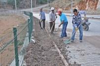 BİSİKLET YOLU - Gölbaşı Gölleri Projesi İçin Peyzaj Çalışmaları Başladı