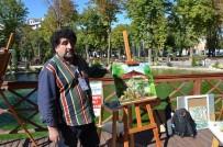 KAZAKISTAN - Hürriyet Parkı Tuvallere Yansıtıldı
