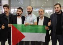 SABİHA GÖKÇEN - İsrail'de 21 Gün Gözaltında Kalan Orhan Buyruk İstanbul'a Döndü