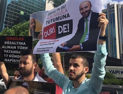 İsrail'de gözaltına alınan Türk vatandaşı serbest bırakıldı
