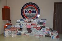 KAÇAK SİGARA - İzmir'de Kaçak Sigara Operasyonu