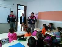 TRAFİK KURALLARI - Jandarma Trafik Timlerinden İlkokul Öğrencilerine Eğitim