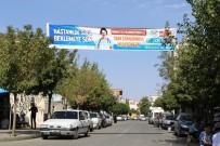 ÇAĞRI MERKEZİ - Kahta'da MHRS Bilgilendirme Afişleri Asıldı