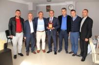MAHALLE MUHTARLIĞI - Kepez Çaylıoğluspor Başkanı Yalman Muhtarları Kutladı