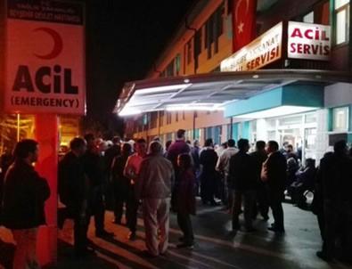Konya Beyşehir'de öğrenci servisi devrildi