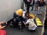 YOLCU MİNİBÜSÜ - Minibüsün Çarptığı Yaşlı Adam Yaralandı