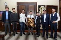 OLGUNLUK - Muhsin-İ Tavır'dan Başkan Külcü'ye Ziyaret