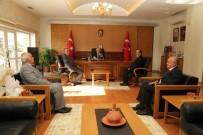 MAHALLİ İDARELER - Muhtarlar Vali Süleyman Kamçı'yı Ziyaret Etti