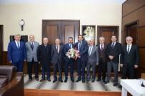 MAHALLİ İDARELER - Muhtarlardan Başkan Külcü'ye Ziyaret