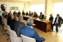 MUHTARLAR KONFEDERASYONU - Muhtarlardan Manisa Büyükşehir'e Ziyaret