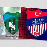 KOCAELISPOR - Niğde Belediyespor Kulübü'nden Kocaelispor'a Destek