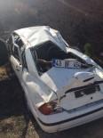 OSMANGAZİ ÜNİVERSİTESİ - Otomobil Takla Attı Açıklaması 1 Yaralı