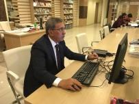 KAYMAKAMLIK - Şehir Araştırmaları Kütüphanesi'nde Bilgisayar Hizmeti Başladı