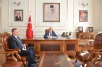 MEHMET CEYLAN - TEKSİF Şube Başkanı Bozan'dan Vali Ceylan'a Ziyaret