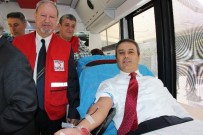 KEMİK İLİĞİ - Yoğun Mesailerine Aldırmadan Kan Verdiler