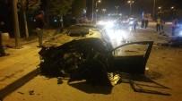 KALP MASAJI - Başkent'te trafik kazası: 1 ölü
