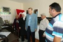 KAZANLı - Cumhurbaşkanı Erdoğan 15 Temmuz Şehitlerinin Evini Ziyaret Etti